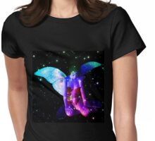 Fairy in stars 7 Womens Fitted T-Shirt