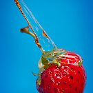 Strawberry and Syrup by heidiannemorris