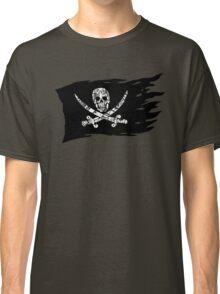 Digital Pirate Jolly Roger Classic T-Shirt