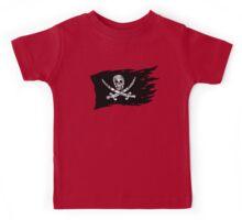 Digital Pirate Jolly Roger Kids Tee