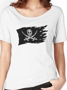 Digital Pirate Jolly Roger Women's Relaxed Fit T-Shirt