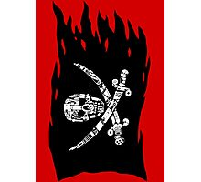 Digital Pirate Jolly Roger Photographic Print
