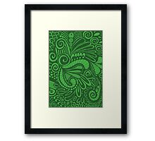 Pop Green Framed Print