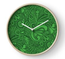 Pop Green Clock