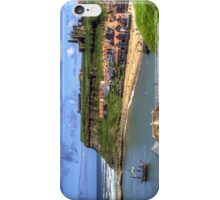 The Endeavour in Whitby Harbour iPhone Case/Skin