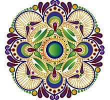 Green Pattern Photographic Print