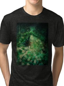 Fairy in the forest Tri-blend T-Shirt