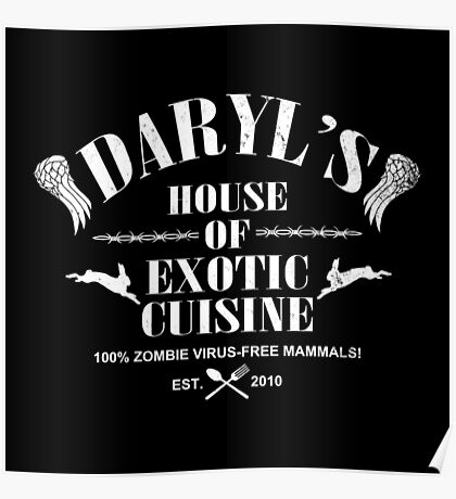 Daryl's House of Exotic Cuisine Poster
