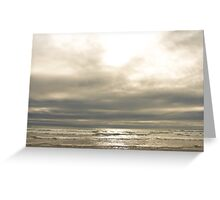 Gilted Shores Greeting Card