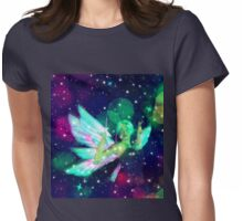 Fantasy Fairy in the Stars 2 Womens Fitted T-Shirt