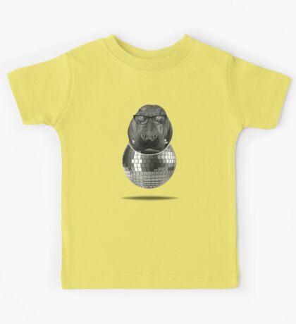 Hippo Disco  Kids Tee