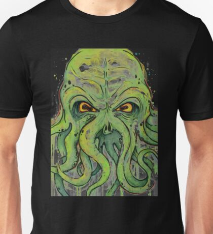 Cthulhu-Watercolor Unisex T-Shirt