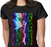 Fantasy Fairy in the Stars 5 Womens Fitted T-Shirt