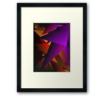 Smoke Screen 2 Framed Print