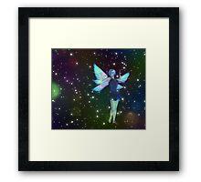 Fantasy Fairy in the Stars 7 Framed Print
