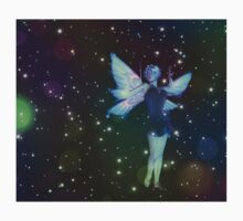 Fantasy Fairy in the Stars 7 Kids Tee