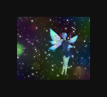 Fantasy Fairy in the Stars 7 Womens Fitted T-Shirt