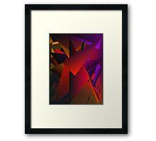 Smoke Screen 5 Framed Print