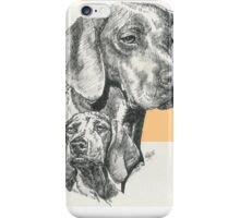Hungarian Vizsla Father & Son iPhone Case/Skin