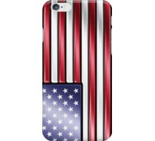 American Flag 2 - USA - Metallic iPhone Case/Skin