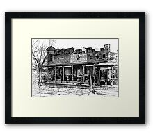 Western Framed Print