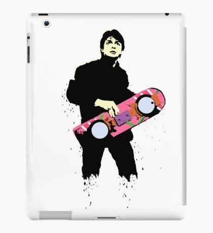 Back to the future Marty Mcfly Minimal iPad Case/Skin