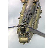 Wokka Wokka 2 !! Chinook Dunsfold 2014 - HDR Photographic Print