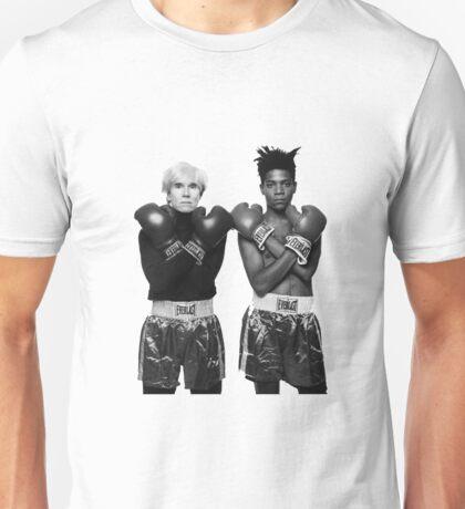 Basquiat Warhol and keep calm  Unisex T-Shirt