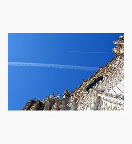 Detail of the entrance in the cathedral of Seville, Spain Photographic Print