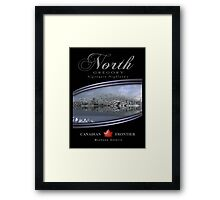 canadian frontiers 1 Framed Print