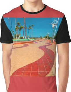 Walking on the streets of Baja Graphic T-Shirt
