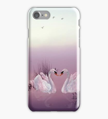Listen to your heart, Let love be your guide. iPhone Case/Skin