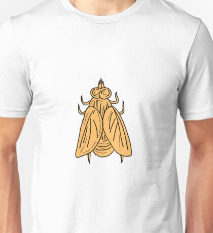 Fly Top View Drawing Unisex T-Shirt