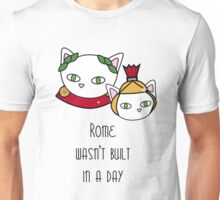 Rome wasn't built in a day Unisex T-Shirt