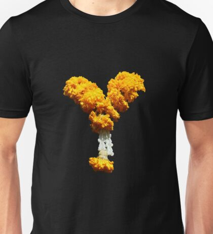 Marigolds for Buddha  Unisex T-Shirt