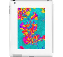Beach flowers iPad Case/Skin