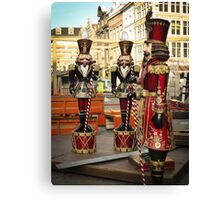 Christmas Soldiers Canvas Print