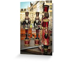 Christmas Soldiers Greeting Card