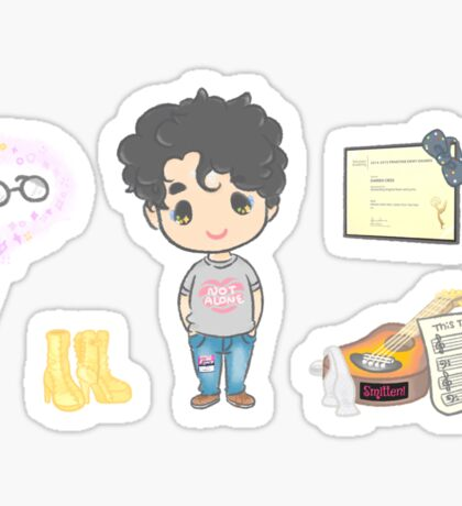 Darren Criss by hedwigdarrenn Sticker