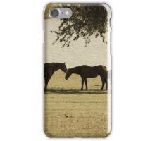 Horse love iPhone Case/Skin
