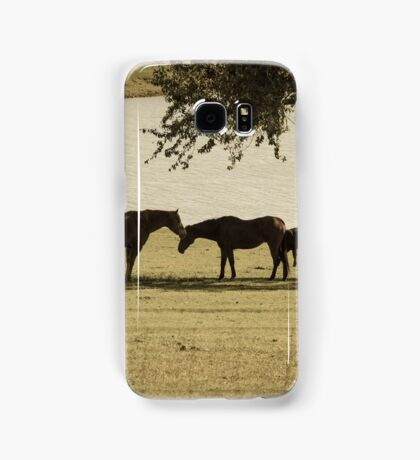 Horse love Samsung Galaxy Case/Skin