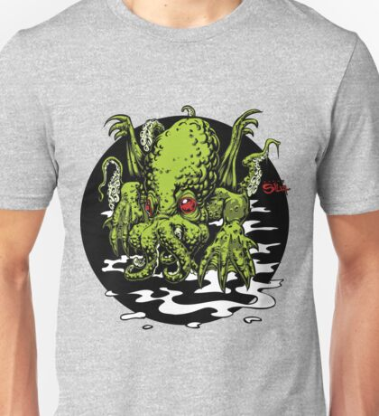 In-His-House-At-R-Lyeh-Dead-Cthulhu-Waits-Dreaming Unisex T-Shirt