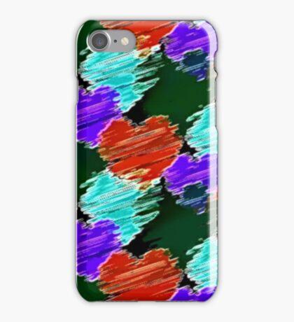 Noir Cartoon Hearts iPhone Case/Skin