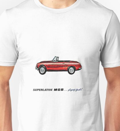 Superlative MGB Unisex T-Shirt