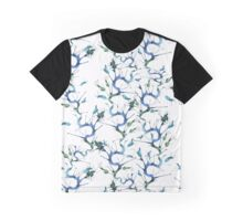 Blue seaweeds pattern Graphic T-Shirt