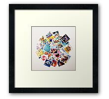The All American Framed Print