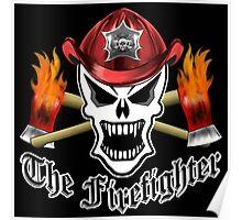 Firefighter Skull 2.5 Poster
