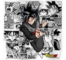 Goku Black - Manga Poster