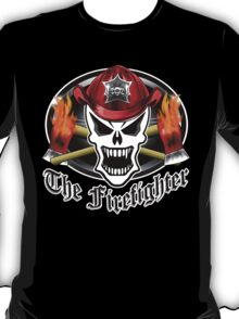 Fire Fighter Skull 2.6 T-Shirt