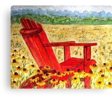 Meet Me In The Meadow Canvas Print